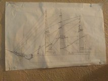 ship drawing in Leesville, Louisiana