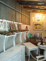4 upcycled antique dining chairs in Cherry Point, North Carolina