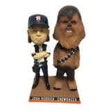 "Astros Star Wars ""Josh Solo Reddick & Chewbacca Bobblehead - Brand New In Box! in Beaumont, Texas"