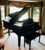 "YAMAHA C2 Baby Grand Piano - Black-Polished Ebony 5'8"" in Westmont, Illinois"