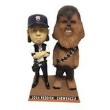 "Astros Star Wars ""Josh Solo Reddick & Chewbacca Bobblehead - Brand New In Box! in Pasadena, Texas"
