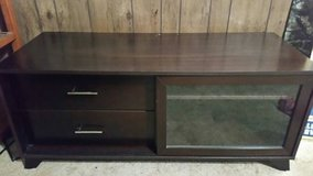 NICE TV STAND W/ 2 DRAWERS & A CABINET in Fort Polk, Louisiana