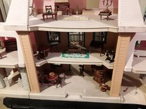 Dollhouse and furniture in Elgin, Illinois