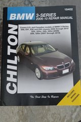 CHILTON BMW 3-Series 2006-10 Repair Manual in Camp Lejeune, North Carolina