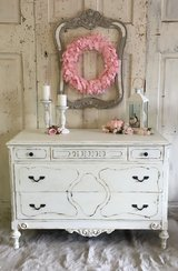 Antique Chest- white in Kingwood, Texas