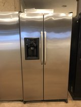 GE stainless refrigerator in Cleveland, Texas
