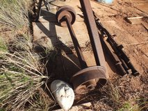 OLD 1800,S ORE CART WHEELS in Alamogordo, New Mexico