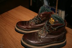 Georgia  laceup boots youth size 2m like new in Alamogordo, New Mexico