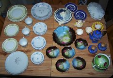 Vintage 66 pieces mixed lot of china in Barstow, California