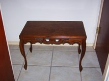 Antique Black Oak coffee table in Barstow, California