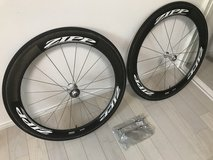 Zipp 404 700c Carbon Tubular Road Bike Wheelset Shimano 8, 9, 10 Speed in Okinawa, Japan