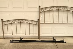 Queen Iron Tube Bed in Travis AFB, California
