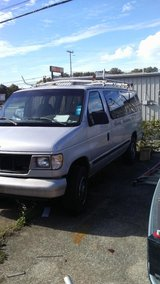1998 Ford Econoline 350 Work Van with Ladder rack in Fort Campbell, Kentucky