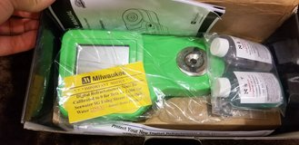 Still in box!! Milwaukee digital refractometer in Okinawa, Japan