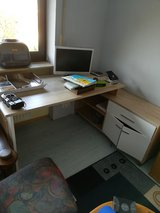 Brown and white Desk in Ramstein, Germany