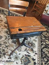 Antique School Desk in Warner Robins, Georgia