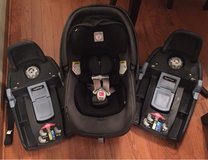 Peg Perego Primo Viaggio 4/35 Infant Car Seat with 2 bases (optional 3rd base available as well) in St. Charles, Illinois