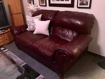 Leather Couch & Loveseat in Stuttgart, GE