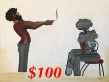This is America Star Wars Painting in Camp Pendleton, California