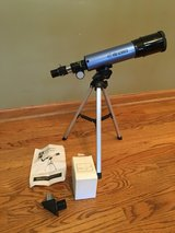 Telescope with Table-Top Tripod in Glendale Heights, Illinois