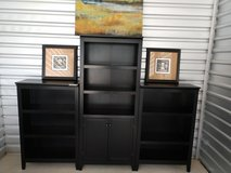 Book shelves and cabinet in Lackland AFB, Texas