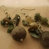 """$3.00 Dangle Earrings Greens, Grays & Browns NEW Perfect To Wear For Any Occasion - Length 2"""" NE... in Leesville, Louisiana"""