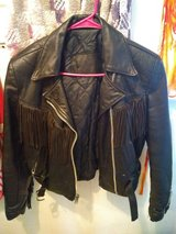 leather jacket in Buckley AFB, Colorado