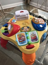 Fisher Price Musical Interactive Play Table in Warner Robins, Georgia