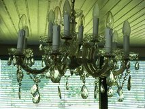 Crystal Chandelier Maria Theresia with 12 bulbs in Stuttgart, GE