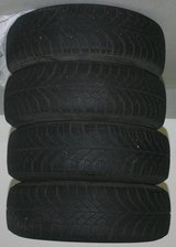 Continental Winter Tires with Rims in Stuttgart, GE