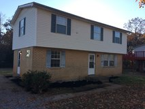3 bedroom, 1 1/2 bath, fenced yard, shed, central heat & air, Pets Ok, in Fort Campbell, Kentucky