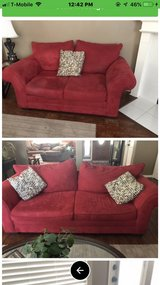 2 couches and chair in Kingwood, Texas