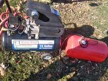 10 gal. Rural king Air compressor and Air tank in Fort Campbell, Kentucky