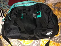 turquoise and black gym bag in Byron, Georgia