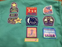 Girl Scout patches in Naperville, Illinois
