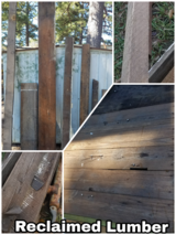 Reclaimed Lumber and Beams in DeRidder, Louisiana