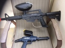 """Paint Ball Rifle and Pistol. """"TIppman Army Alpha Black Elite"""" and """"Blade"""" Pistol. in Okinawa, Japan"""