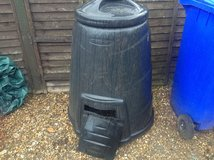 Compost bin in Lakenheath, UK