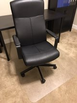 IKEA Office chair & Office chair floor mat in Fort Riley, Kansas