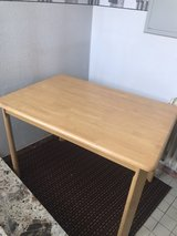 Solid wood kitchen or dining  table in Ramstein, Germany