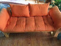 Futon Love Seat Sofa Bed in Cherry Point, North Carolina