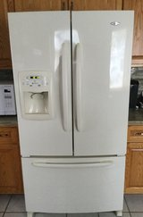 French door refrigerator Bisque color in Tinley Park, Illinois