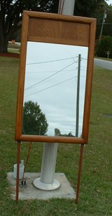 OAK wood dresser mirror or wall mirror in Warner Robins, Georgia