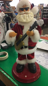 Rocking Santa (Works) in Fort Leonard Wood, Missouri