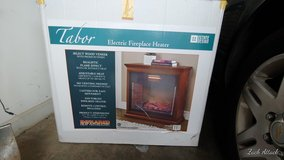 Tabor Electric Fireplace Heater in Fort Rucker, Alabama
