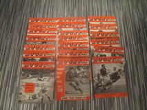 20 VINTAGE 1960'S RUGBY WORLD MAGAZINES in Lakenheath, UK