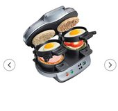 HAMILTON BEACH DOUBLE SANDWICH MAKER in 29 Palms, California