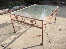 Vintage Wrought Iron Outdoor Table in Chicago, Illinois