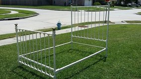 White Iron ANTIQUE bed! in Kingwood, Texas