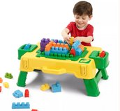 """New"" Crayola Building Blocks 2 in 1 Activity Table in Elgin, Illinois"